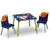 Set masuta si scaune Delta Children Astronaut