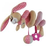 Spirala cu jucarii Baby Mix Pink Bunny