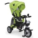 Tricicleta cu copertina si sezut reversibil Moni Fenix verde