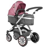 Carucior Lorelli Aurora 2 in 1 rose & grey Princess