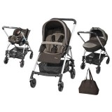 Carucior Bebe Confort Trio Streety Next earth brown