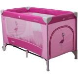 Patut pliabil Coto Baby Samba roz