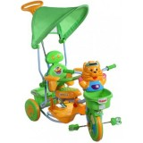Tricicleta cu copertina Arti Tigru 2880 verde
