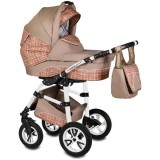 Carucior Vessanti Flamingo Easy Drive 3 in 1 beige