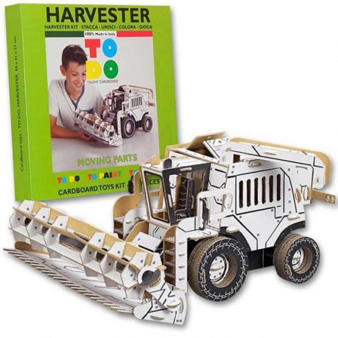 Joc creativ Todo 3D Harvester