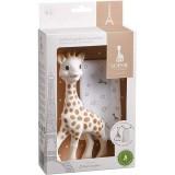 Jucarie Vulli Girafa Sophie si saculet de transport
