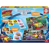 Puzzle Educa The SuperPack Mickey and the Roadster Racer 2x25 piese