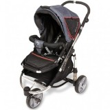 Carucior Kiddy Sport n Move 2 in 1 antracit