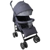 Carucior Lionelo Irma black dark grey
