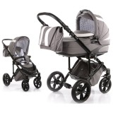 Carucior Volkswagen Carbon Optik Knorr-Baby 2 in 1 grey