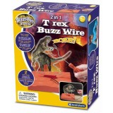 Jucarie Brainstorm Toys T Rex Buzz Wire 2 in 1