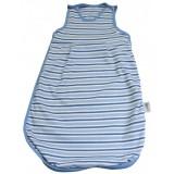 Sac de dormit Slumbersac Blue Stripes 0-6 luni 2.5 Tog
