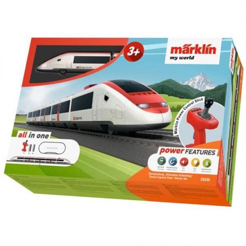Trenulet electric Marklin Swiss Express