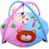 Covoras de joaca Arti 7362045 Bears blue pink
