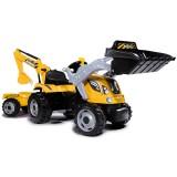 Tractor cu pedale si remorca Smoby Builder Max galben {WWWWWproduct_manufacturerWWWWW}ZZZZZ]