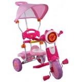 Tricicleta cu copertina Arti 260c roz