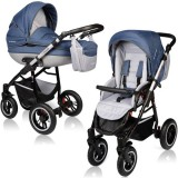 Carucior Vessanti Crooner Prestige 2 in 1 blue