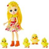 Set Enchantimals by Mattel Dinah Duck With Slosh And Family Papusa cu 4 figurine {WWWWWproduct_manufacturerWWWWW}ZZZZZ]