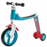 Trotineta Scoot and Ride HighwayBaby+ albastru rosu