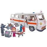 Masina Simba Masha and the Bear Ambulance cu accesorii {WWWWWproduct_manufacturerWWWWW}ZZZZZ]