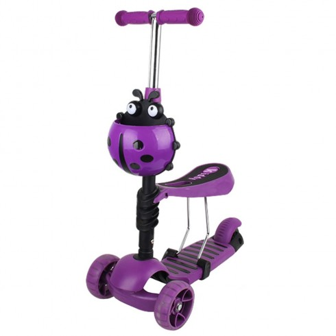 Trotineta Chipolino Kiddy Evo purple {WWWWWproduct_manufacturerWWWWW}ZZZZZ]