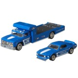 Camion Hot Wheels by Mattel Car Culture Retro Rig cu masina Ford Mustang Boss 302 {WWWWWproduct_manufacturerWWWWW}ZZZZZ]