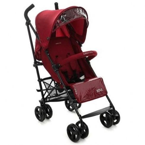 Carucior Coto Baby Soul red