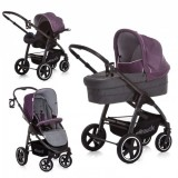 Carucior Hauck Soul Plus Trio Set 3 in 1 berry 2018