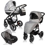 Carucior Vessanti Crooner Prestige 3 in 1 gray