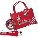 Geanta Reig Musicales Minnie Mouse cu microfon si amplificator