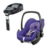 Pachet Scaun auto Maxi Cosi Pebble purple pace cu baza auto Familyfix