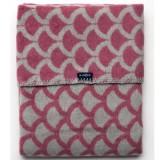 Patura Womar Semicerc roz inchis gri