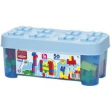 Set constructie Ecoiffier Abrick 50 piese albastru