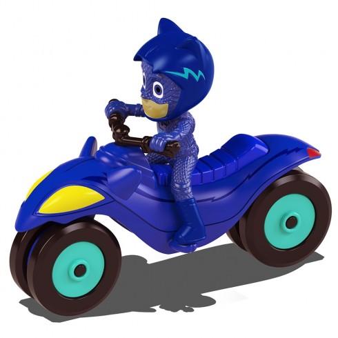 Motocicleta Dickie Toys Eroi in Pijama Moon Rover cu figurina Cat Boy {WWWWWproduct_manufacturerWWWWW}ZZZZZ]