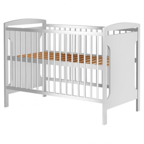 Patut copii din lemn Hubners Karly 120x60 cm alb {WWWWWproduct_manufacturerWWWWW}ZZZZZ]