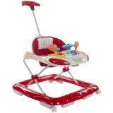 Premergator cu control parental Sun Baby Super Car rosu cu crem