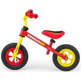 Bicicleta fara pedale Milly Mally Dragon Air yellow red