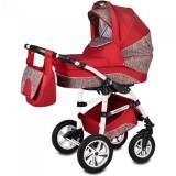 Carucior Vessanti Flamingo Easy Drive 3 in 1 Red
