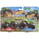 Set Hot Wheels by Mattel Monster Trucks Demolition Doubles Raphael vs Leonardo {WWWWWproduct_manufacturerWWWWW}ZZZZZ]