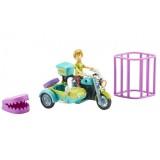 Set Scooby Doo Motocicleta cu atas si figurina Shaggy