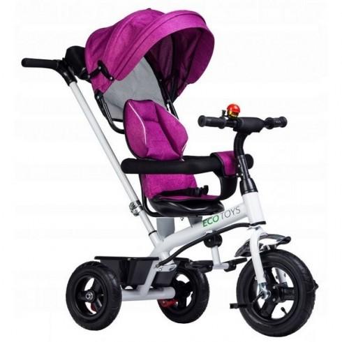Tricicleta Ecotoys JM-068-11H roz