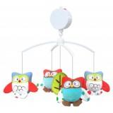 Carusel muzical Baby Mix Owls