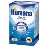 Lapte praf Humana de noapte cu cereale de la 6 luni 600 g