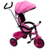 Tricicleta cu copertina Baby Mix Ecotrike 188199 roz