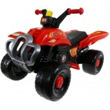 ATV Super Plastic Toys Red Fire