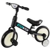 Bicicleta Eurobaby Plus Jl 101 2 in 1 negru