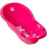 Cadita Tega Baby Piscot Little Princess cu senzor temperatura roz