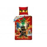 Lenjerie de pat LEGO Ninjago (9040228) {WWWWWproduct_manufacturerWWWWW}ZZZZZ]
