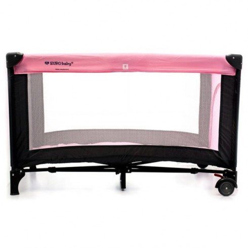 Patut pliabil Eurobaby Qx-805 roz
