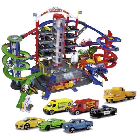 Pista de masini Majorette Super City Garage {WWWWWproduct_manufacturerWWWWW}ZZZZZ]